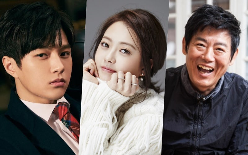 INFINITE's L, Go Ara, And Sung Dong Il Confirmed As Main Cast Of New JTBC Drama