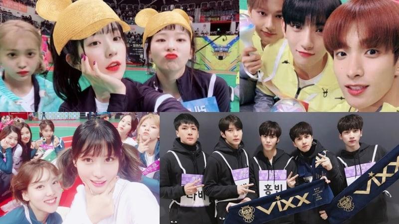 Red Velvet, SEVENTEEN, TWICE, VIXX, And More Share Photos