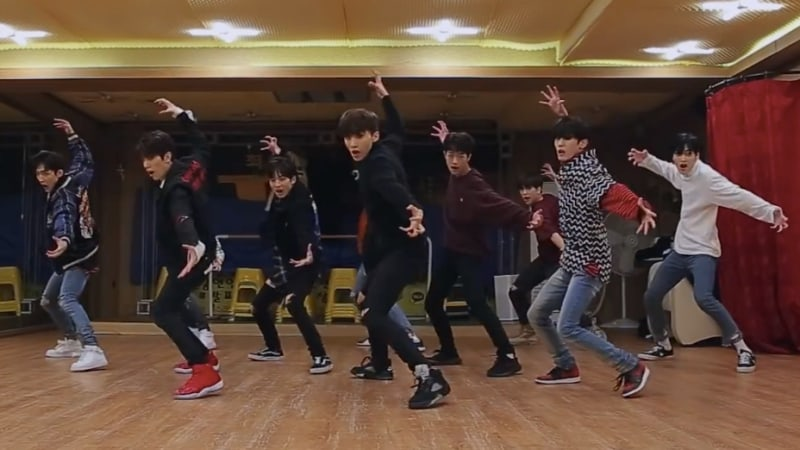 "Update: TRCNG Shares Both Powerful And Cute Dance Practice Videos For ""Wolf Baby"""