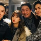"""Hoya Bids Farewell To """"Two Cops"""" And Shares Photos With His Co-Stars"""