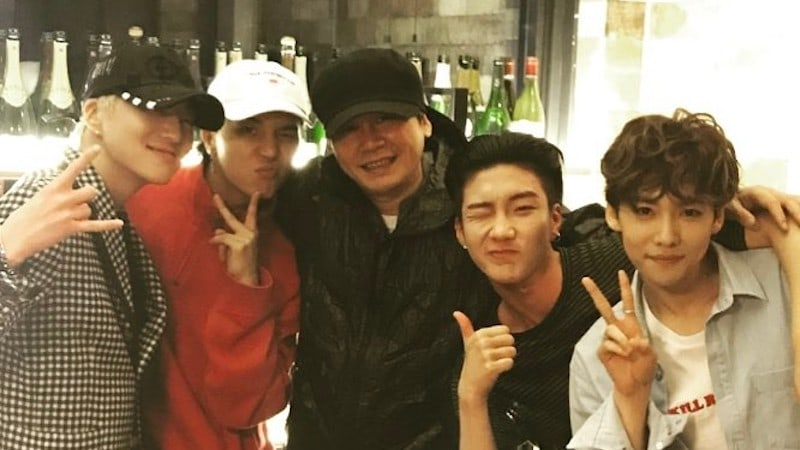 Yang Hyun Suk Follows WINNER On Instagram And Reveals Expected Comeback Date