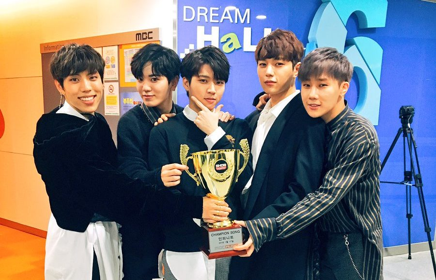 "Watch: INFINITE Takes 1st Win For ""Tell Me"" On ""Show Champion,"" Performances By Jo Kwon, Oh My Girl, And More"