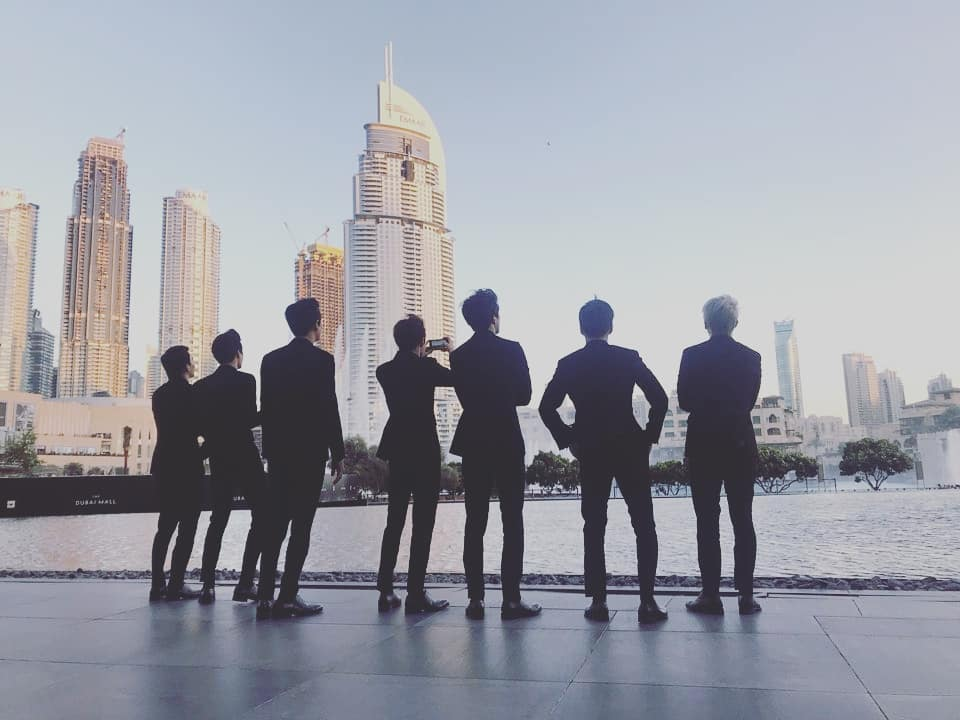 EXO Reveals Photos Of Their Unforgettable Dubai Trip