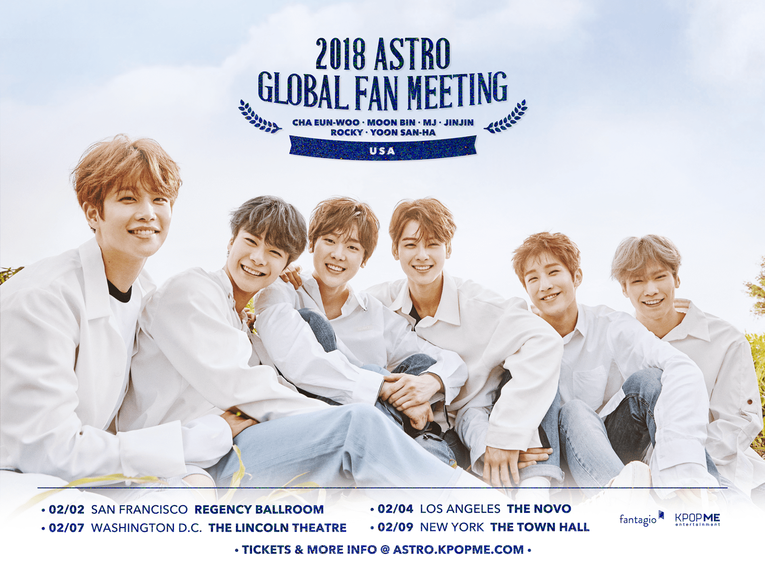 Win Tickets to See ASTRO At Their First Solo Fan Meeting Tour In The US
