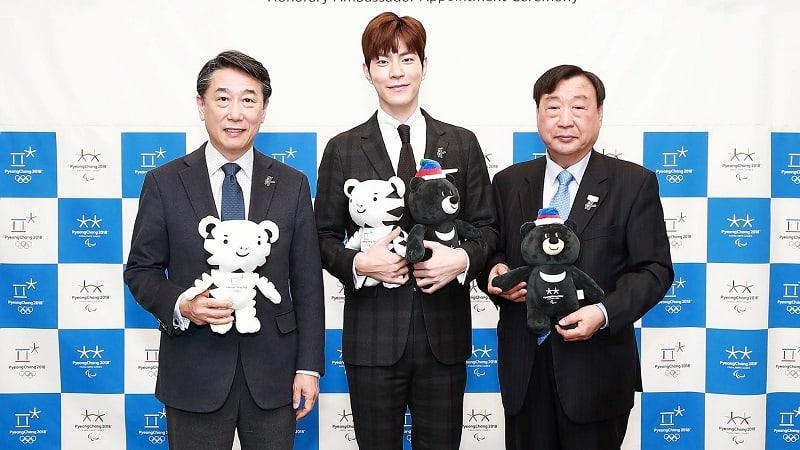 Hong Jong Hyun Chosen As An Honorary Ambassador For 2018 PyeongChang Winter Olympics