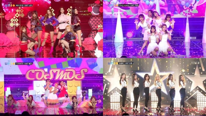 "Watch: ""The Unit"" Female Teams Impress With Performances Of New Songs + Results Revealed"