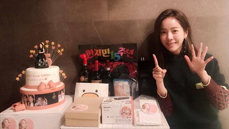 Han Ji Min'den Hayranlarına Teşekkür /// 21 Ocak 2018