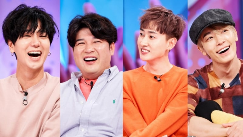 "Super Junior's Yesung, Shindong, Eunhyuk, And Donghae To Appear On ""Hello Counselor"""