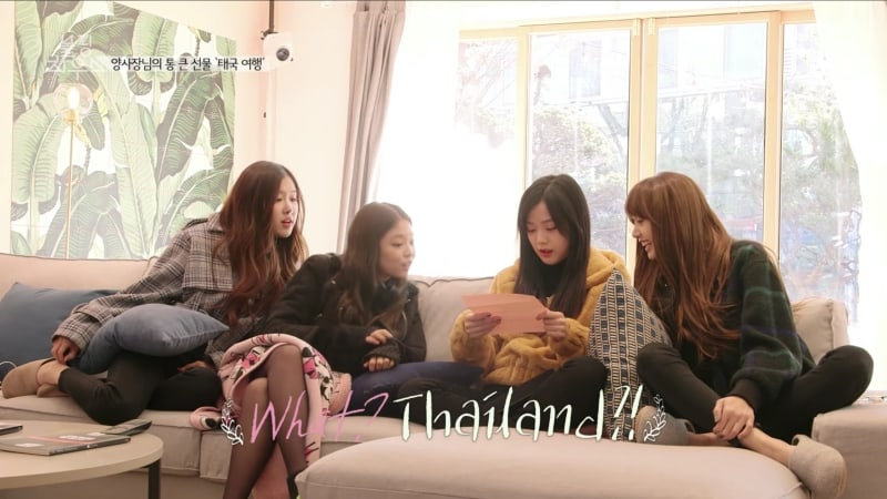 Watch: BLACKPINK Members Have Fun Together In Thailand