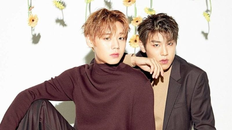 Wanna One's Park Ji Hoon And Park Woo Jin Celebrate Becoming Adults In Manly Pictorial