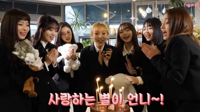 """Idol Drama Operation Team"" Project Group Girls Next Door Reunites For Moonbyul's Birthday"
