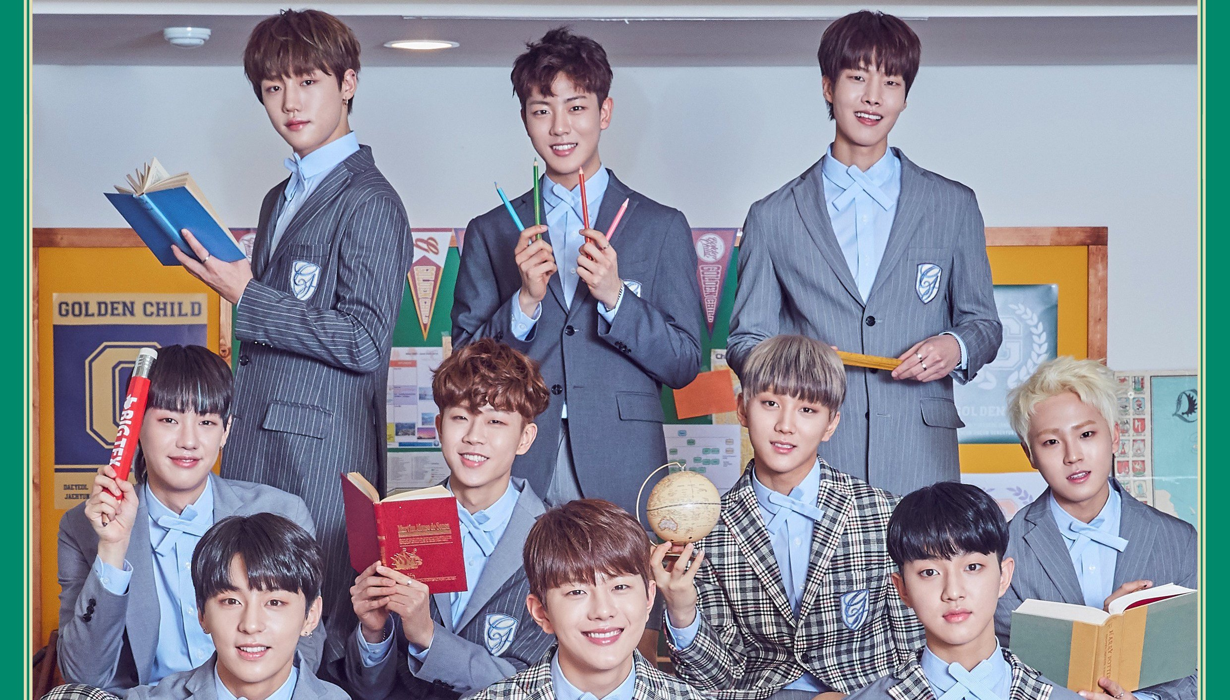 """Update: Golden Child Shares Album Preview For """"Miracle"""""""