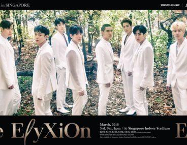 EXO The-ElyXiOn Singapore
