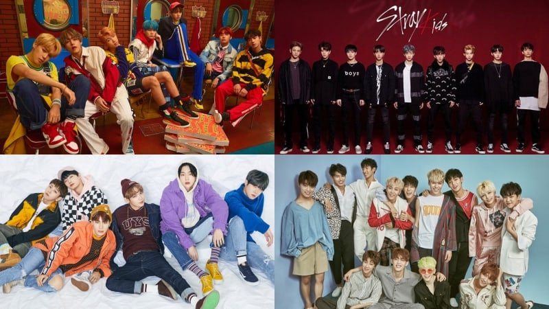 Bts Stray Kids Jbj Seventeen Chungha And More Take High