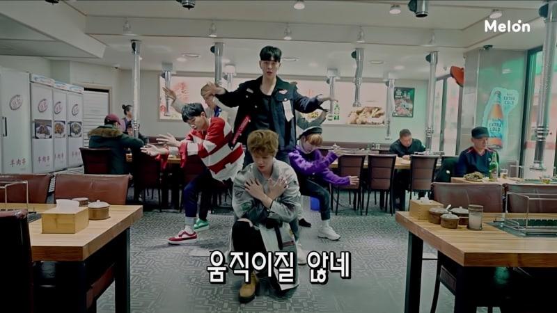 """Watch: JBJ Succeeds Performing """"My Flower"""" In A Lamb Skewer Restaurant"""