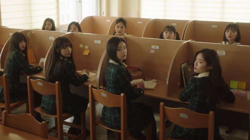 "Watch: ""Idol School"" Girl Group fromis_9 Makes Debut With Lovable MV For ""To Heart"""