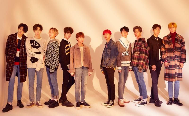 "PENTAGON Tops Tower Records Weekly Album Chart With ""Violet"""