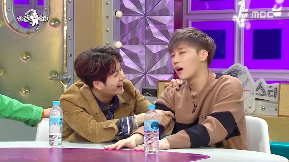 "INFINITE's Sunggyu Hilariously Reacts To A Photo From His Past On ""Radio Star"""
