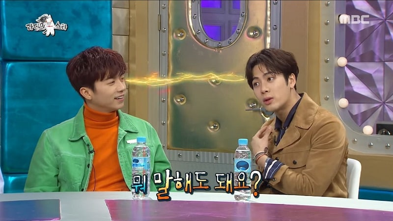 GOT7's Jackson Jokes About How 2PM's Wooyoung Gives Advice | Soompi