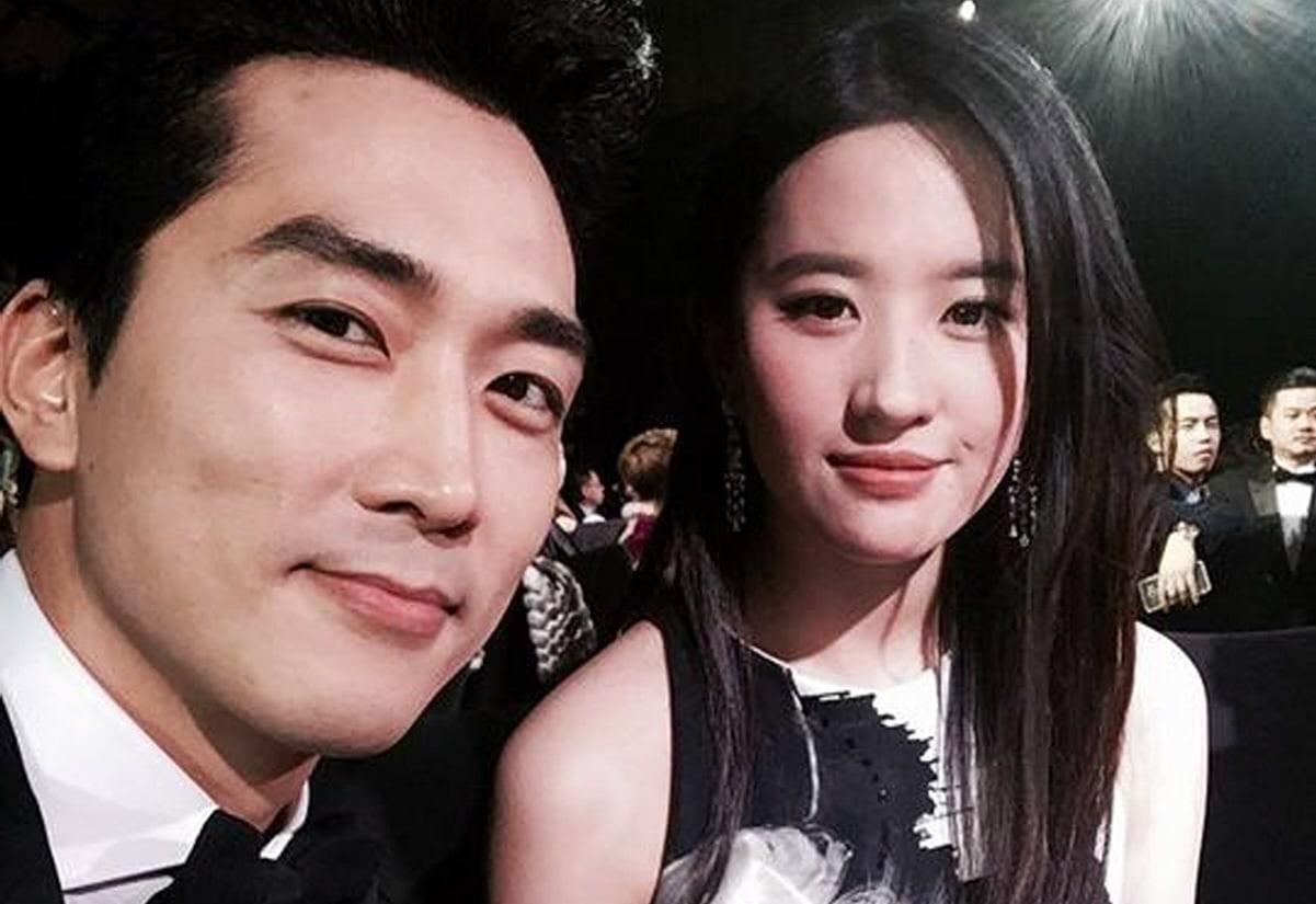Song Seung Heon And Liu Yifei >> Song Seung Heon And Liu Yi Fei Confirmed To Have Broken Up Soompi
