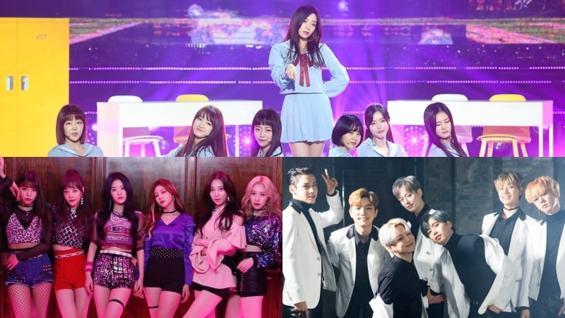 """Always,"" ""Cherry On Top,"" And ""Question"" Teams From ""The Unit"" To Perform On ""Music Bank"""