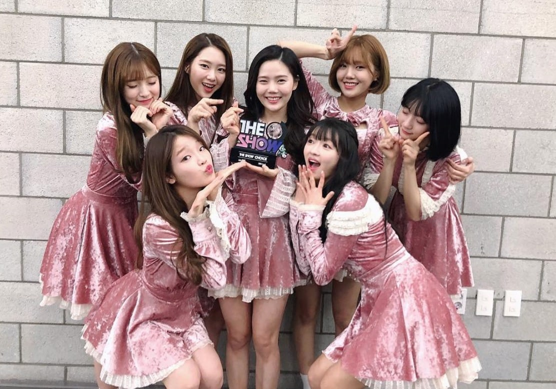 """Oh My Girl Opens Up About 1st Music Show Win, Love For Fans, And Success Of """"Secret Garden"""""""