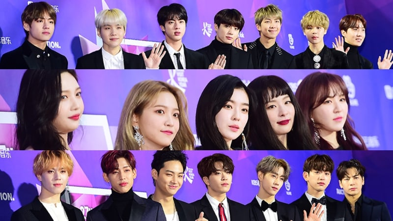 Stars Stun On The Red Carpet For The 27th Seoul Music Awards