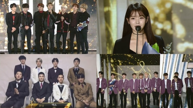 Winners Of The 27th Seoul Music Awards