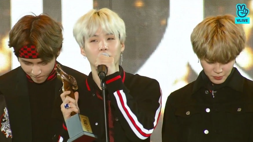 Bts Wins Grand Prize At The 27th Seoul Music Awards Soompi
