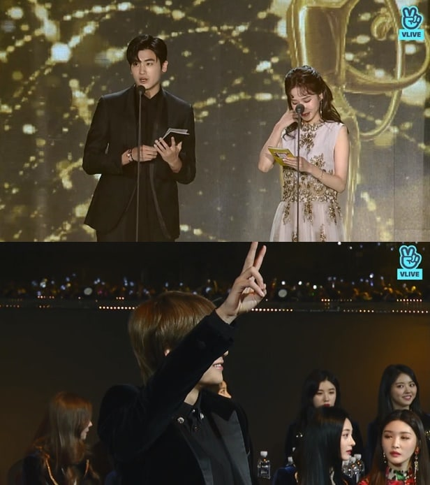 Watch Park Hyung Sik Shows Love For Btss V At 27th Seoul Music