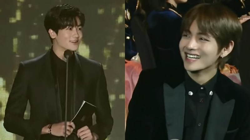 Watch: Park Hyung Sik Shows Love For BTS's V At 27th Seoul Music Awards