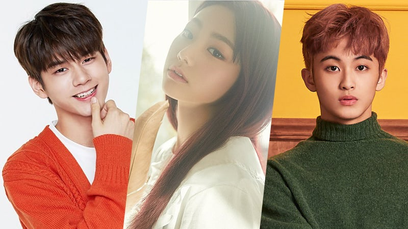 """Wanna One's Ong Seong Woo, gugudan's Mina, And NCT's Mark Confirmed As New MCs For """"Music Core"""""""