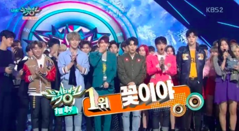 """JBJ Grabs First-Ever Win For """"My Flower"""" On """"Music Bank"""""""