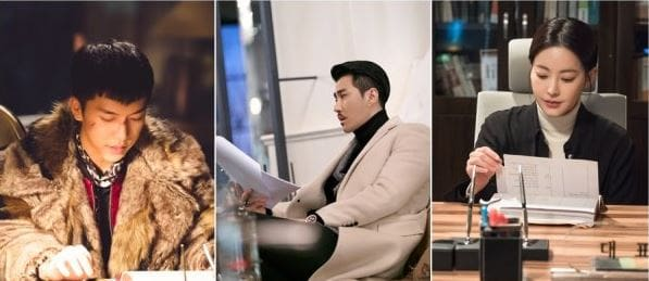 "Lee Seung Gi, Cha Seung Won, And Oh Yeon Seo Show Dedication Behind The Scenes Of ""Hwayugi"""