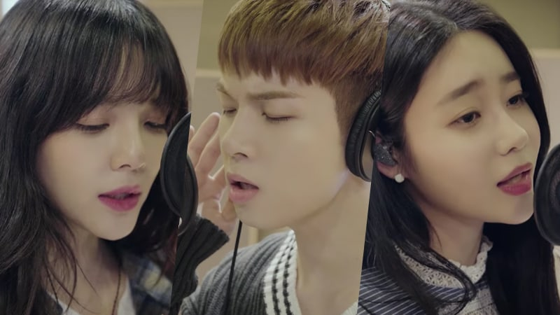 """Watch: AOA's Jimin And Yuna Sing """"If You Were Me"""" In MV For """"Hwayugi"""" OST Featuring Yoo Hoe Seung"""