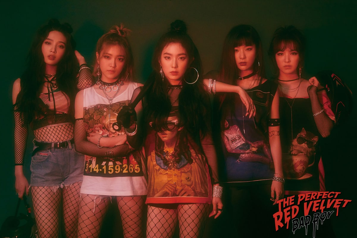 Update Red Velvet Slays In New Teaser Images For The Perfect Red Velvet  Soompi-7102