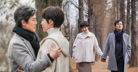 "Kam Woo Sung And Kim Sun Ah Experience A Mature Love In ""Should We Kiss First"""