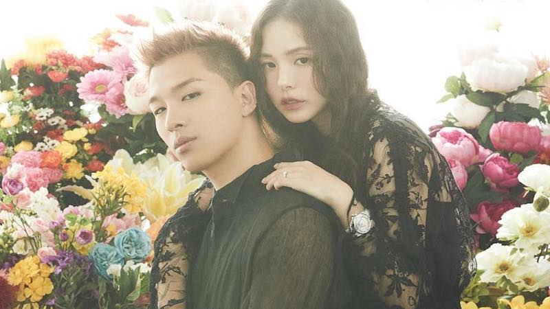 Taeyang And Min Hyo Rin Pose Together For First Ever Couple Photoshoot