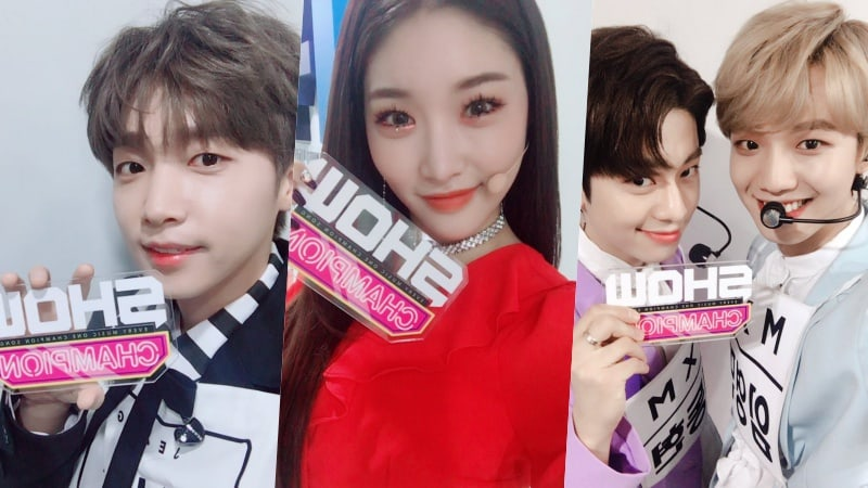"Watch Live: Jeong Sewoon, VAV, Chungha, And More Perform On ""Show Champion"""