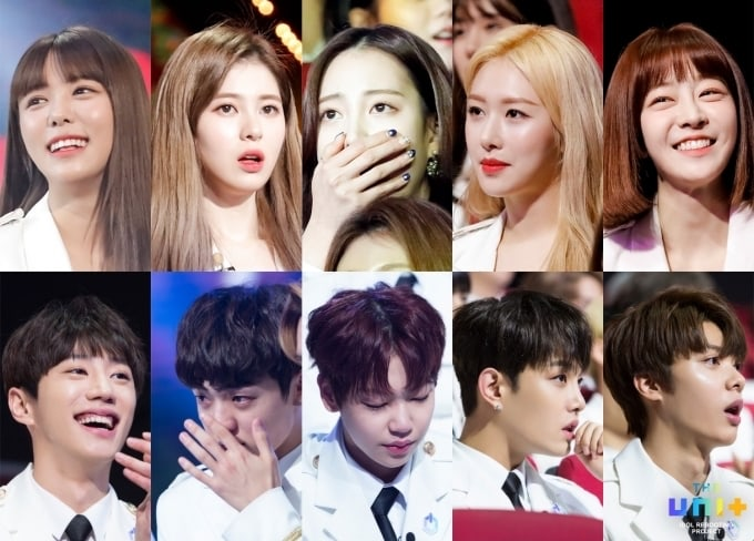 """""""The Unit"""" Contestants React To 3rd Ranking Announcements Ahead Of Finale"""