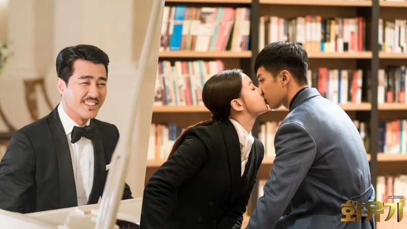 """How Cha Seung Won Plays A Key Role Between Lee Seung Gi And Oh Yeon Seo In """"Hwayugi"""""""
