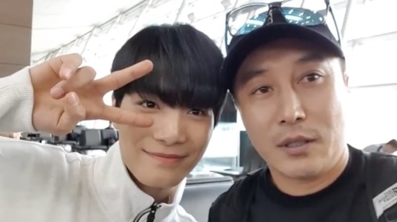 Watch: NU'EST's JR Thanks Kim Byung Man For Thoughtful Gift