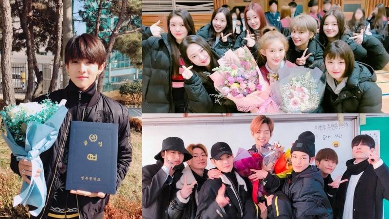 Samuel, MOMOLAND's Daisy, And VICTON's Subin Share Happy Photos From Graduation