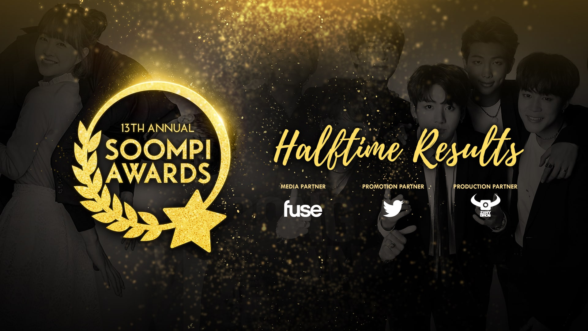 The 13th Annual Soompi Awards: Halftime Results