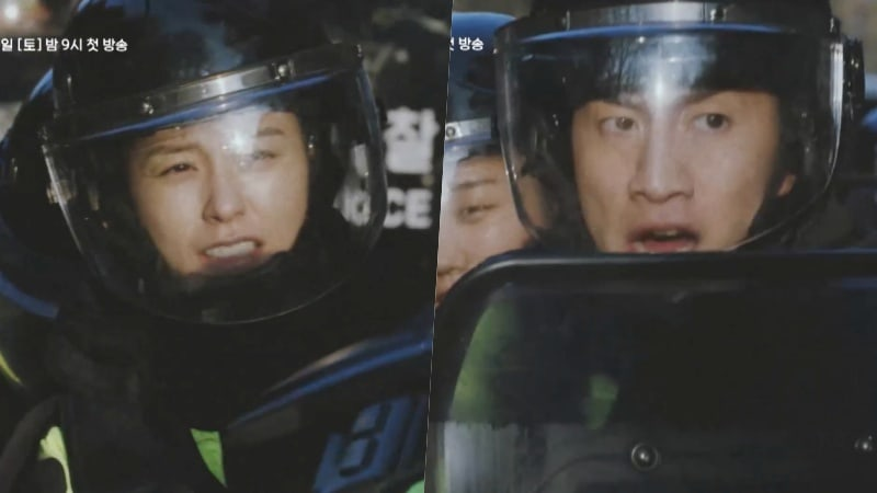 "Watch: New Drama ""Live"" Releases Action-Packed Teaser Of Jung Yoo Mi And Lee Kwang Soo"