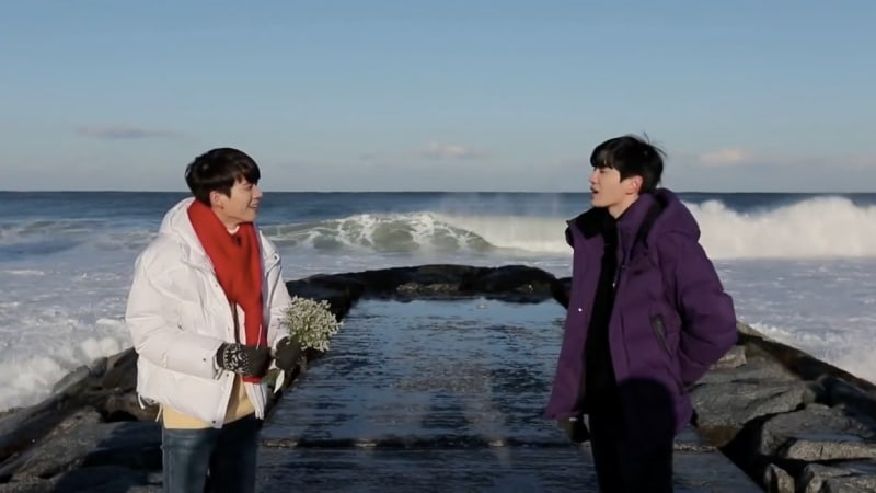 """Watch: INFINITE's Woohyun And Sungjong Stage Hilarious Parody Of """"Goblin"""""""