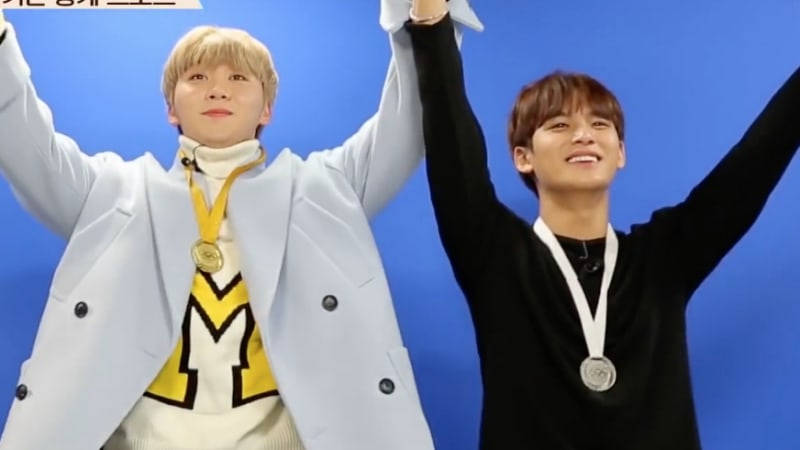 Watch: SEVENTEEN's Seungkwan And Mingyu Try Their Hand At Winter Olympic Sports Through VR