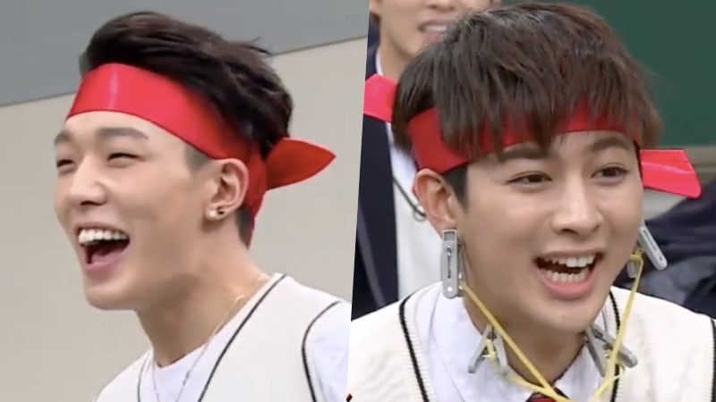 Watch: iKON's Bobby And Yunhyeong Hilariously Attempt To Prove Their Strength