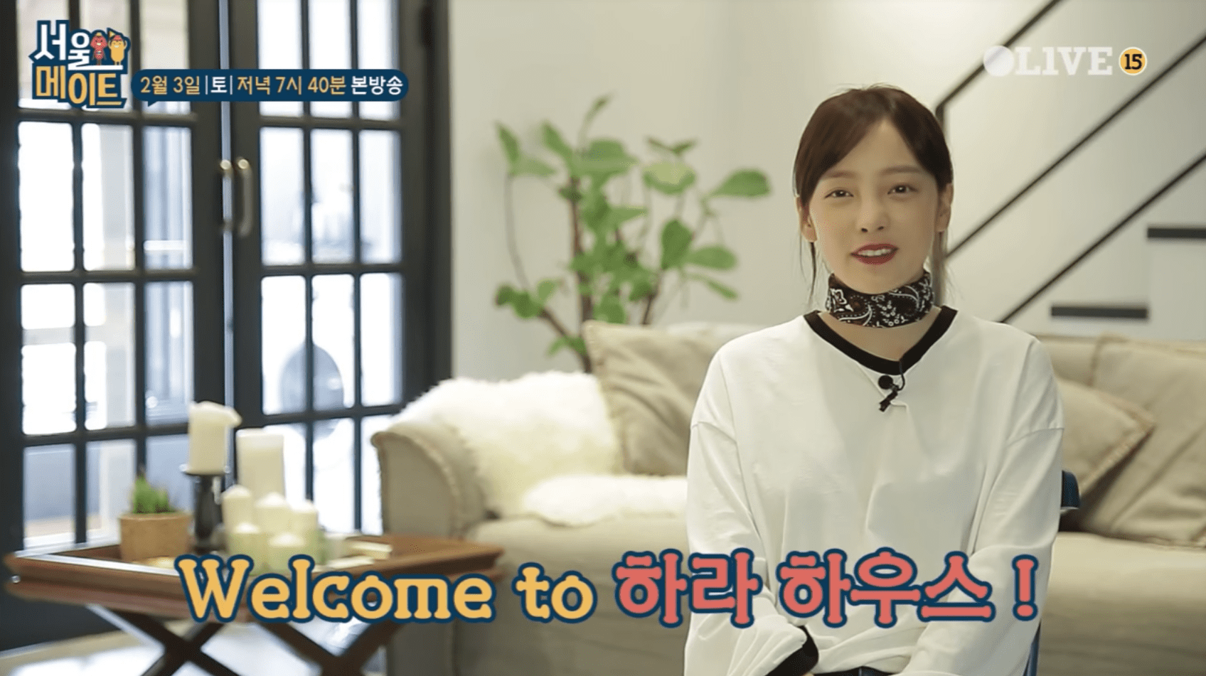 """Watch: Goo Hara Shows Off Her Modern House For The First Time On """"Seoulmate"""""""