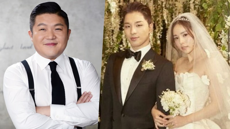 Bang S Taeyang Shares Video Of His Epic Dance Battle With Jo Se Ho At Wedding After Party